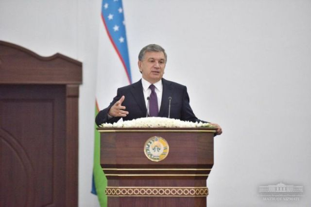 SHAVKAT MIRZIYOYEV GAVE INSTRUCTIONS ON ATTRACTING ADDITIONAL FOREIGN INVESTMENTS