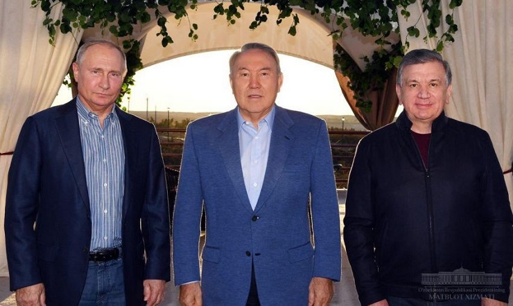 ON INFORMAL MEETING OF THE PRESIDENT OF THE REPUBLIC OF UZBEKISTAN WITH THE PRESIDENT OF THE RUSSIAN FEDERATION AND THE PRESIDENT OF THE REPUBLIC OF KAZAKHSTAN
