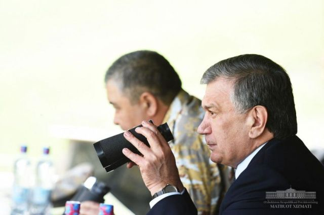 "SHAVKAT MIRZIYOYEV: ""OUR NATIONAL ARMY IS A SYMBOL OF PRIDE, A TESTAMENT OF STRENGTH AND KNOWLEDGE"""