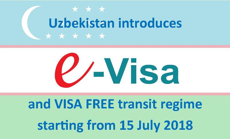 The Republic of Uzbekistan introduces E-visa system for 51 countries and a 5-day transit visa-free procedure for 101 countries