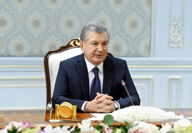 President Shavkat Mirziyoyev meets with Chairman of the Supreme National Reconciliation Council of Afghanistan