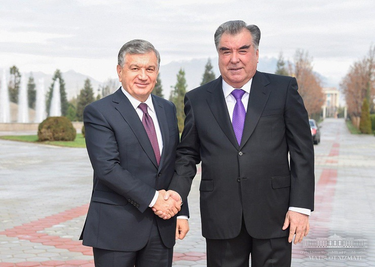 PRESIDENTS OF UZBEKISTAN AND TAJIKISTAN HELD NEGOTIATIONS IN A NARROW FORMAT